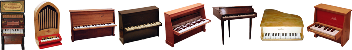 UVI Acoustic Toy Museum | Toy Pianos and Keys